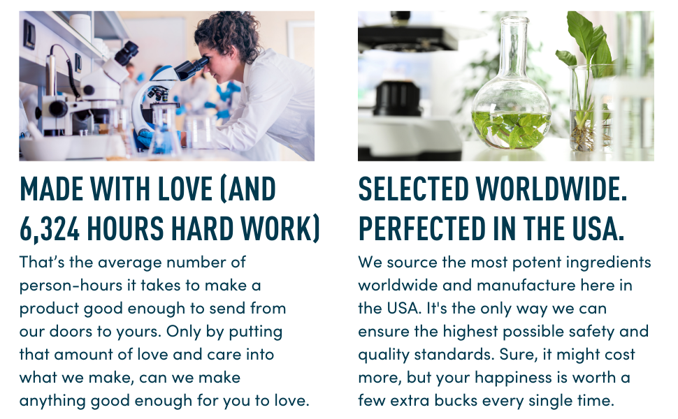 Windsor Botanicals EBC - Footer - Made in USA with love