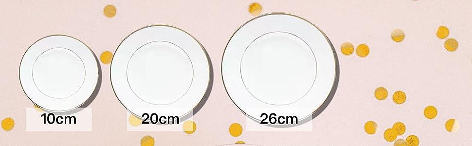 10cm TO 26cm IN DIAMETER