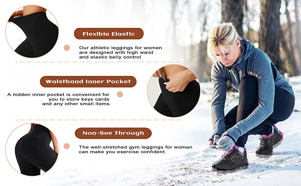 hiking leggings women