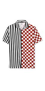 Striped Plaid Shirt