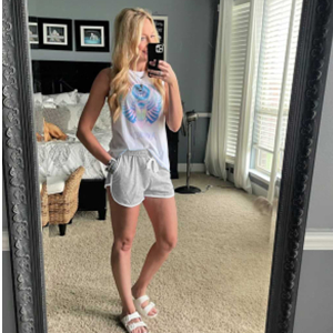 AUTOMET Summer shorts for women