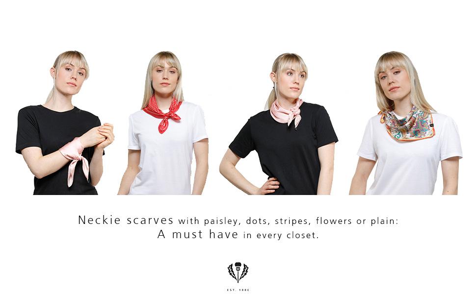 neckie scarves - must have