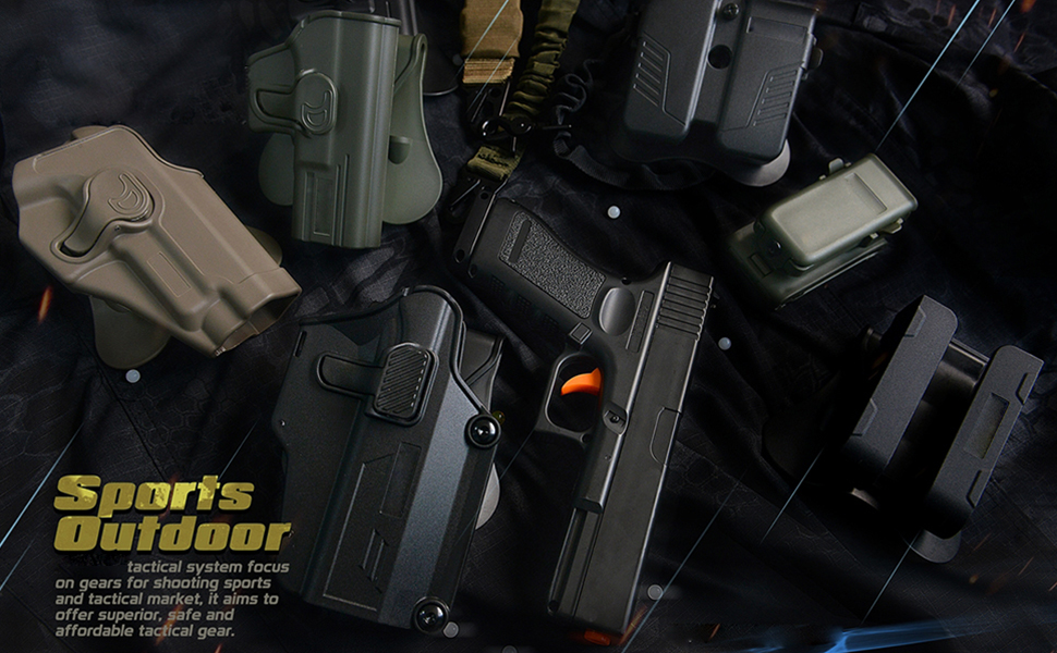 Holsters for Smith & Wesson M& P 9mm