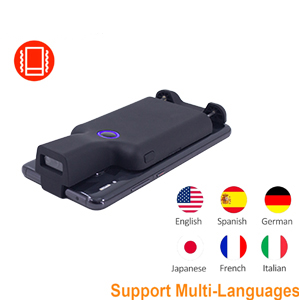 portable bluetooth barcode scanner handheld wireless back clip barcode scanner