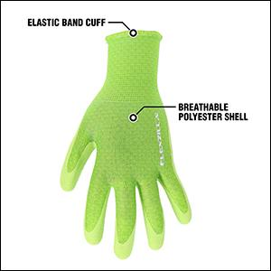 Elastic Band Cuff; Breathable Polyester Shell
