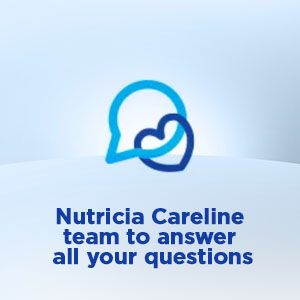 Nutricia Careline team to answer all your questions