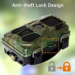 KINKA-Trail Camera for Hunting with Night Vision Waterproof