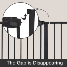 baby gate pet gate dog gate door gate no drill gate adjustable punch-free stairs gates