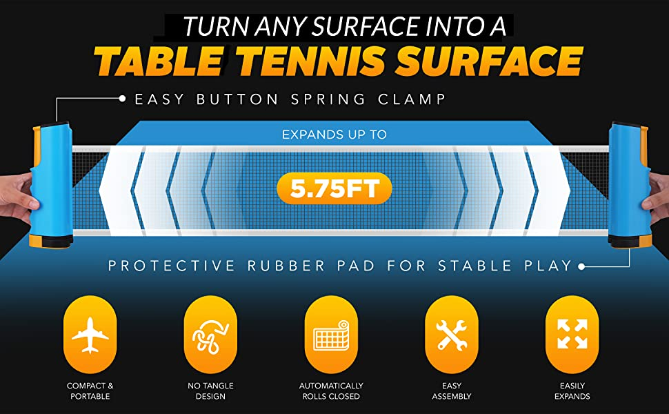 Table Tennis Surface