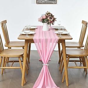 Rustic table linen