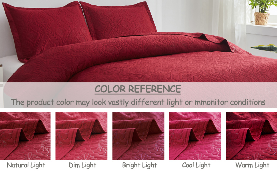 lightweight bedspread