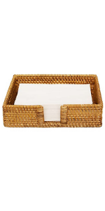 Dinner cocktail, off-fold napkins, or can be used as accessories tray for rings, soap, perfume
