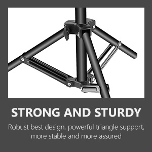 t-shape backdrop support stand