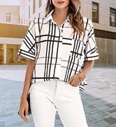 Women Button Down Shirt Tops
