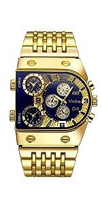 Menamp;#39;s Fashion Quartz Watch Blue