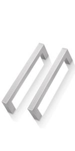 brushed nickel cabinet handles