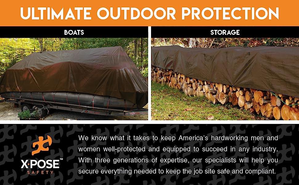 xpose safety premium heavy duty tarp tarps