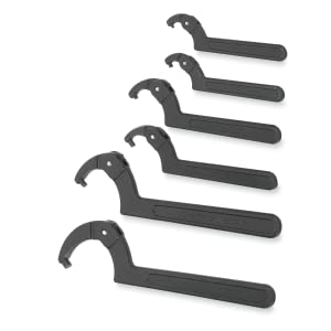 Williams 6 Piece Pin Spanner Wrench Set