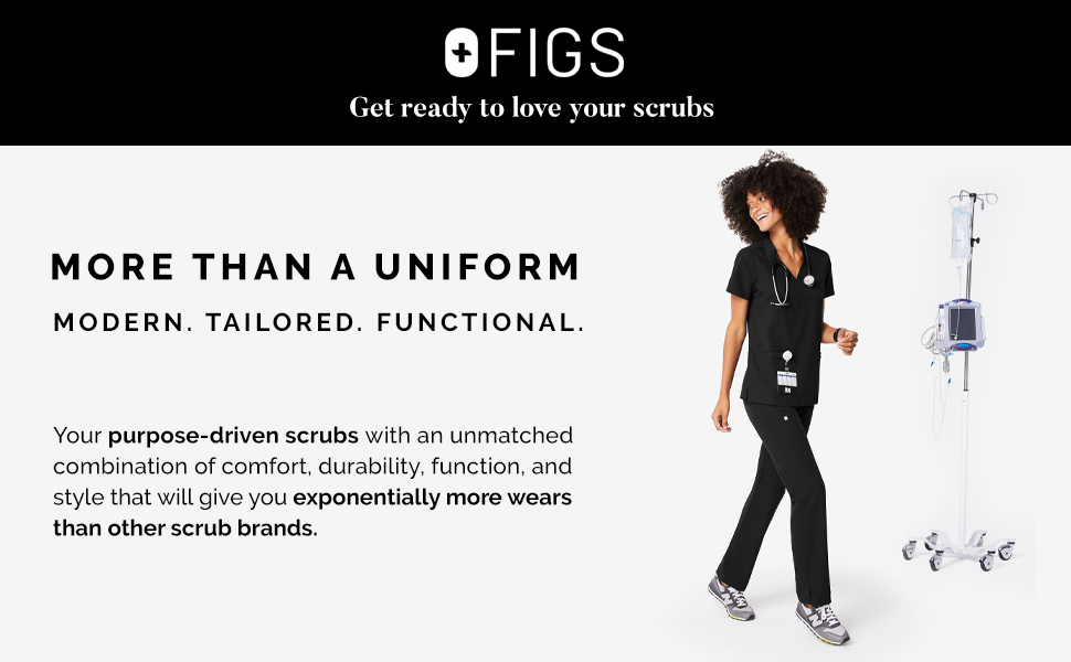More than a uniform. Modern. Tailored. Functional