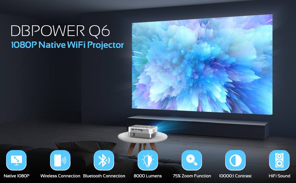 projector outdoor