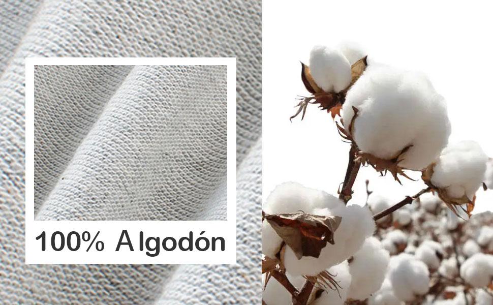 100% algodon