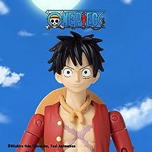 One Piece Anime Heroes Bandai