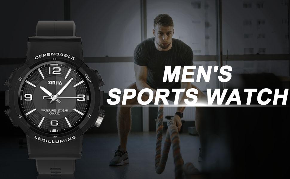 Men's sports watch