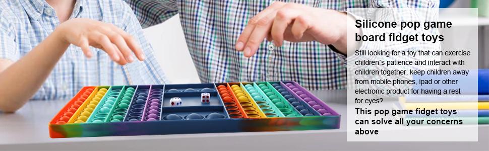 pop game board fidget toys