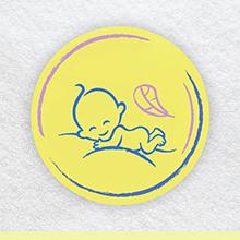 Doekjes voor baby's om billetjes schoon te maken bevat zinkzalf om luieruitslag te voorkomen