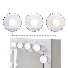 DRESSING TABLE WITH LED