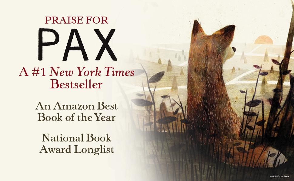 Pax, New York Times Bestseller, Award, Praise