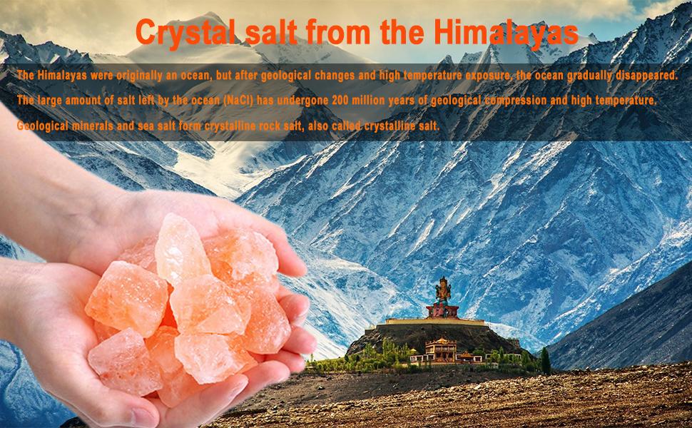 Himalayas crystal salt