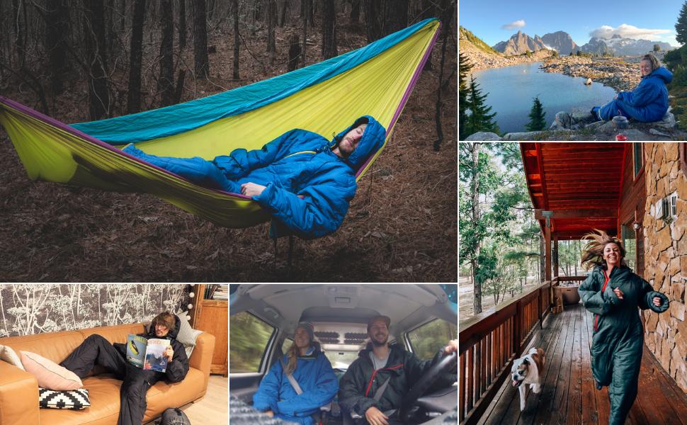 selkbag,selk,camping,outdoor,sleeping bag,wearable,rv,blanket,onesie,snowsuit,tent,hiking,travel