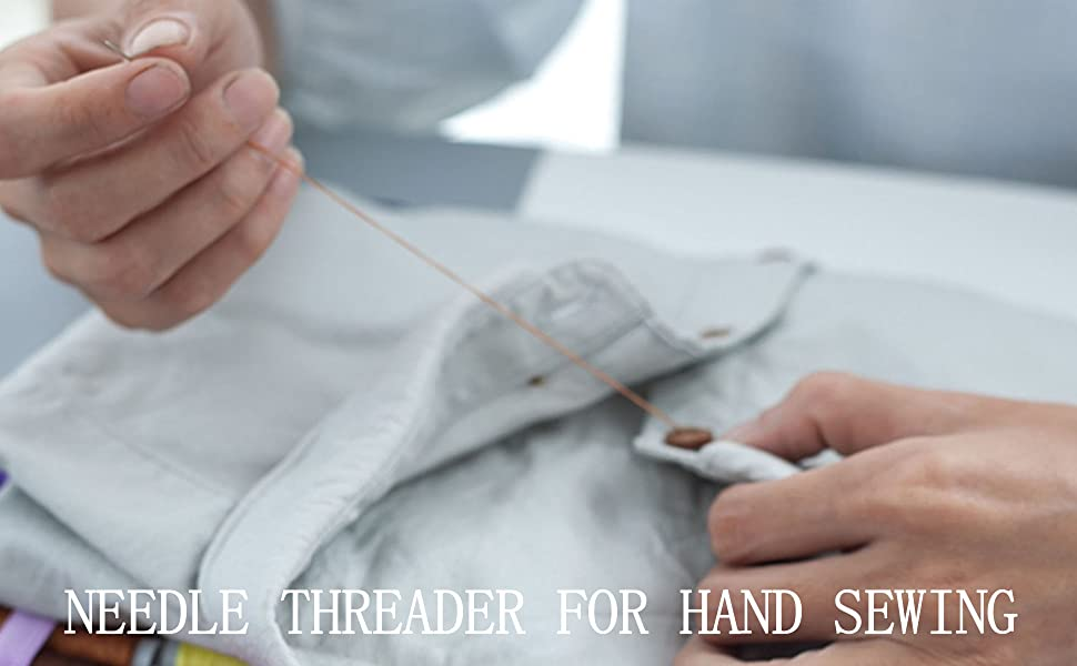 Needle Threader for Hand Sewing