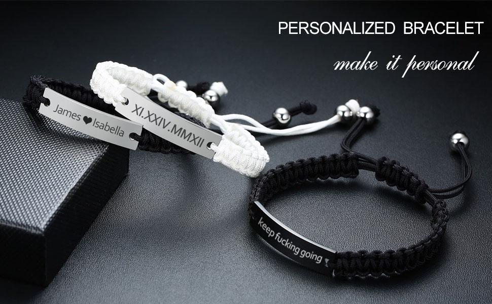 personalized id bracelet,personalized bracelet
