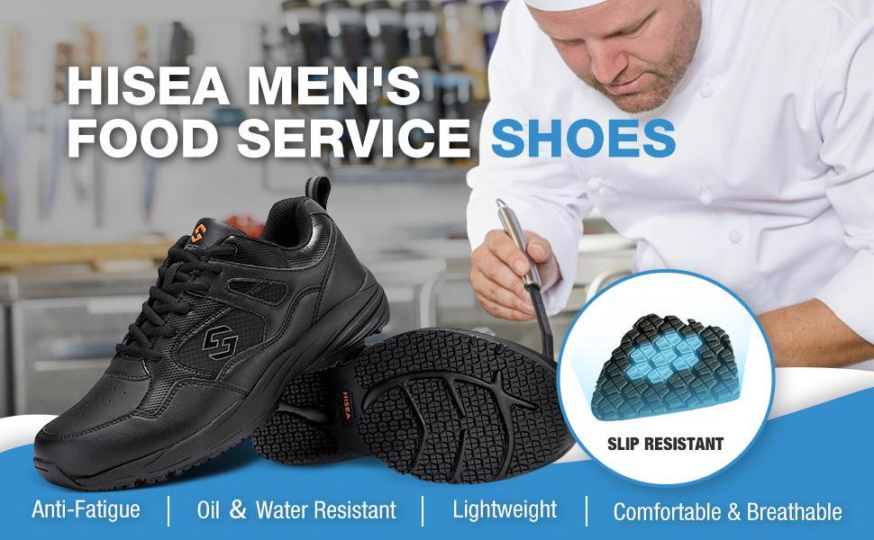 hisea non slip shoes for men