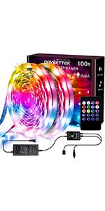 100FT Music led lights