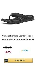 Women flip flops