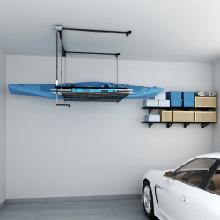 Kayak garage storage rack
