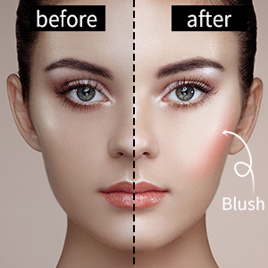 contour and highlight blush pallet vegan wet illuminating blushlighter powder blush