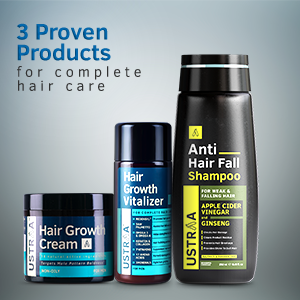 3 Proven Products for complete hair care