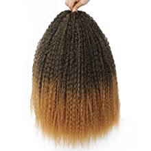 braiding curly crochet hair