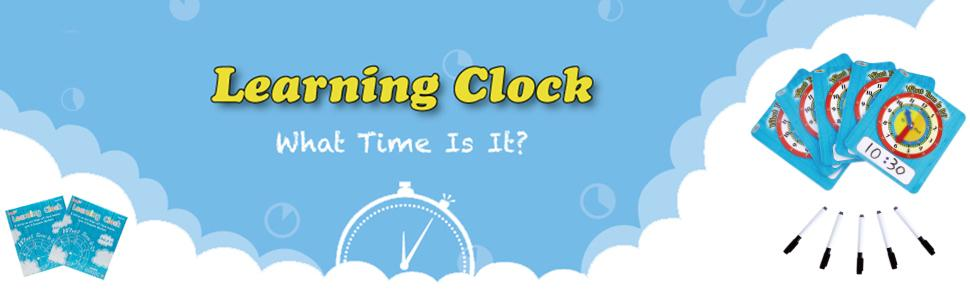 Teaching clock for kids to learn how to tell time?
