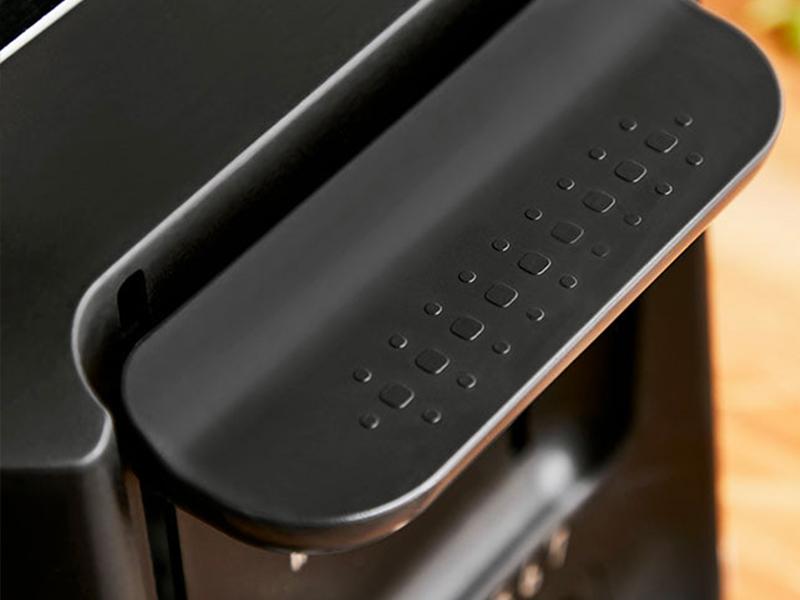 Le design ergonomique de ce grille-pain a été conçu pour vous faciliter la vie au quotidien.