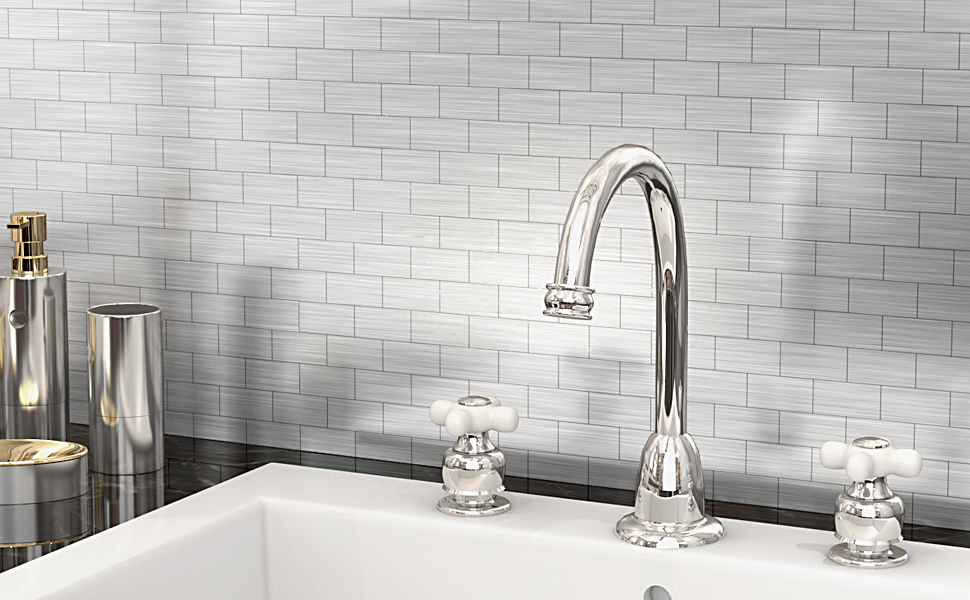 subway tile peel and stick