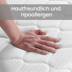 Hautfreundliche Matratze