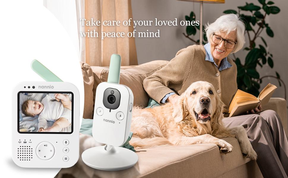 pet, elderly monitor