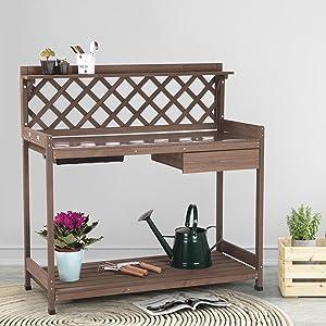 Garden Workstation Table