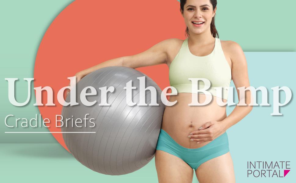Intimate Portal Assorted Styles Maternity Knickers Pregnancy Underwear Under The Bump Bikini Panties Foldable Briefs