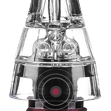 wine aerator, air holes, smart aeration, air intake system